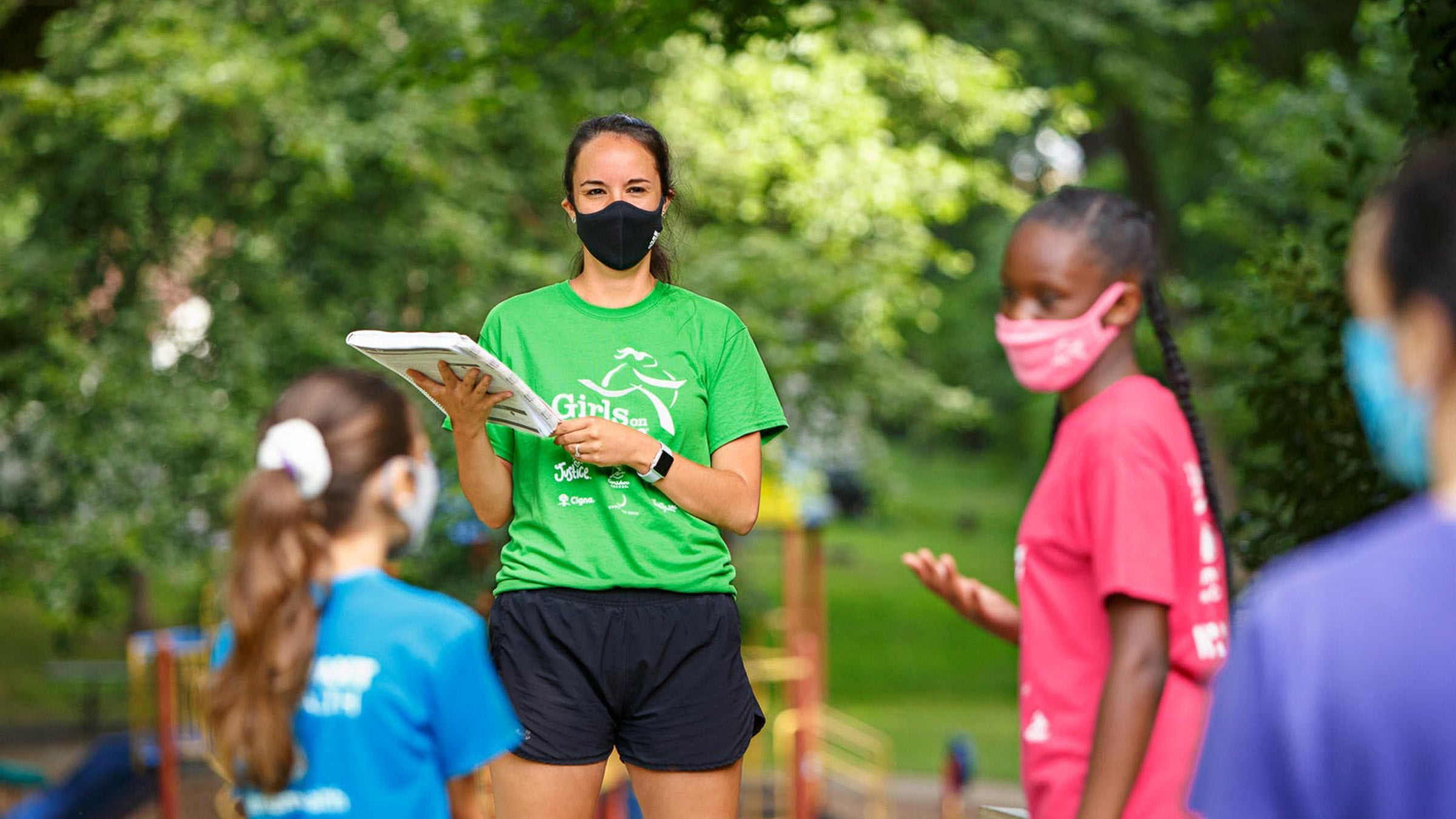 No School Sports? No Problem, Thanks to Girls on the Run