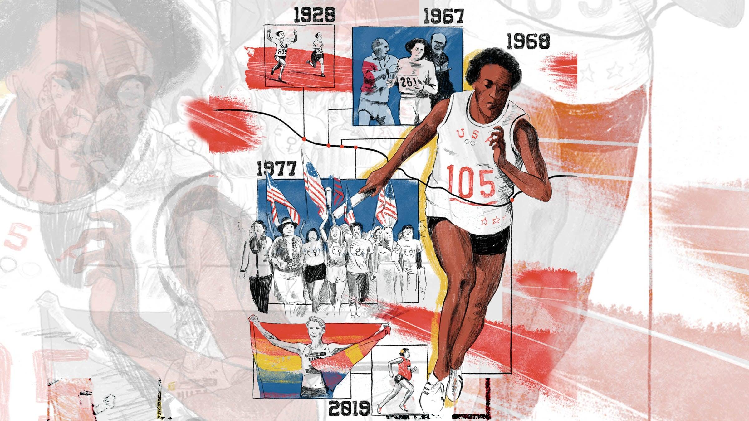 Can We Run Away From Politics? - Women's Running