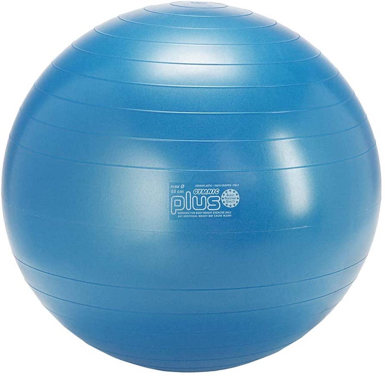 Pelota de ejercicios Gymnic Classic Plus azul