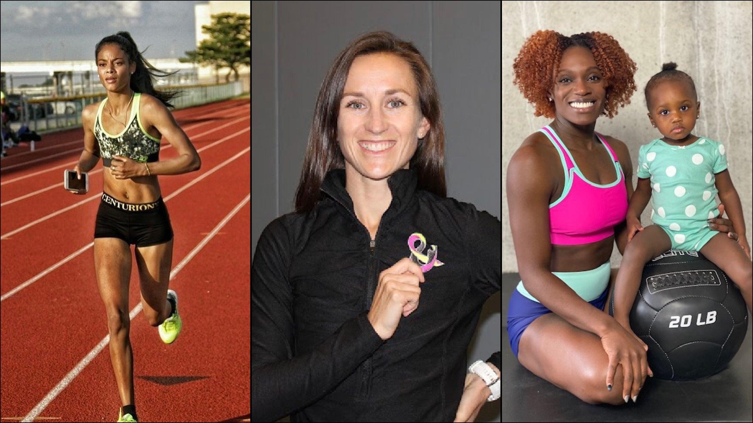 Maternity Brand Cadenshae Backs Three U.S. Olympic Hopefuls