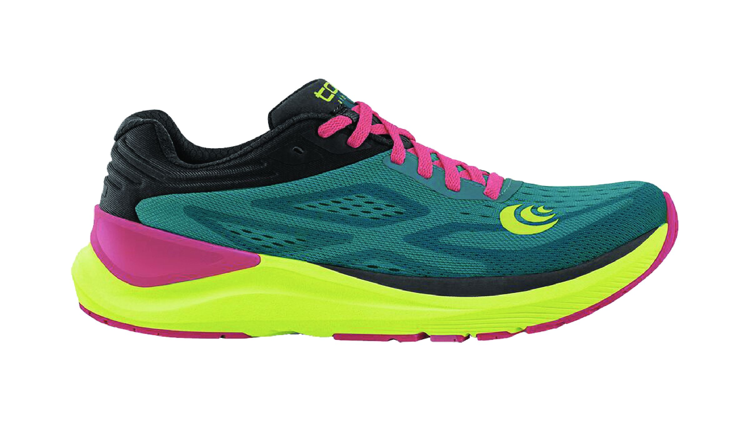 Multi-colored Topo Athletic Ultrafly 3 running shoe