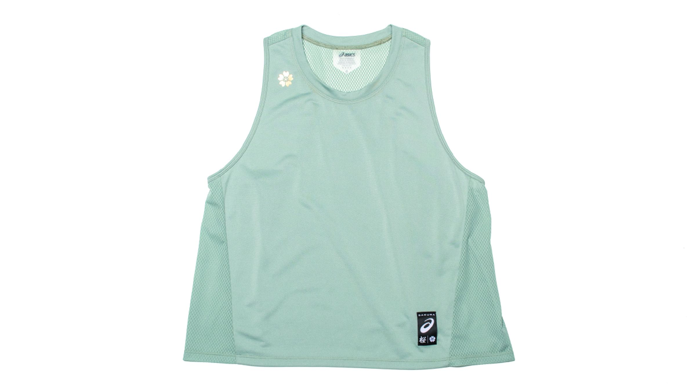 Mint green Asics Sakura tank top