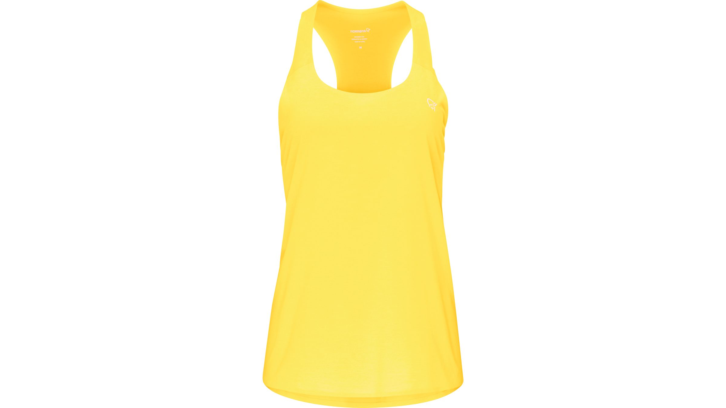 Yellow Norrona Singlet tank top