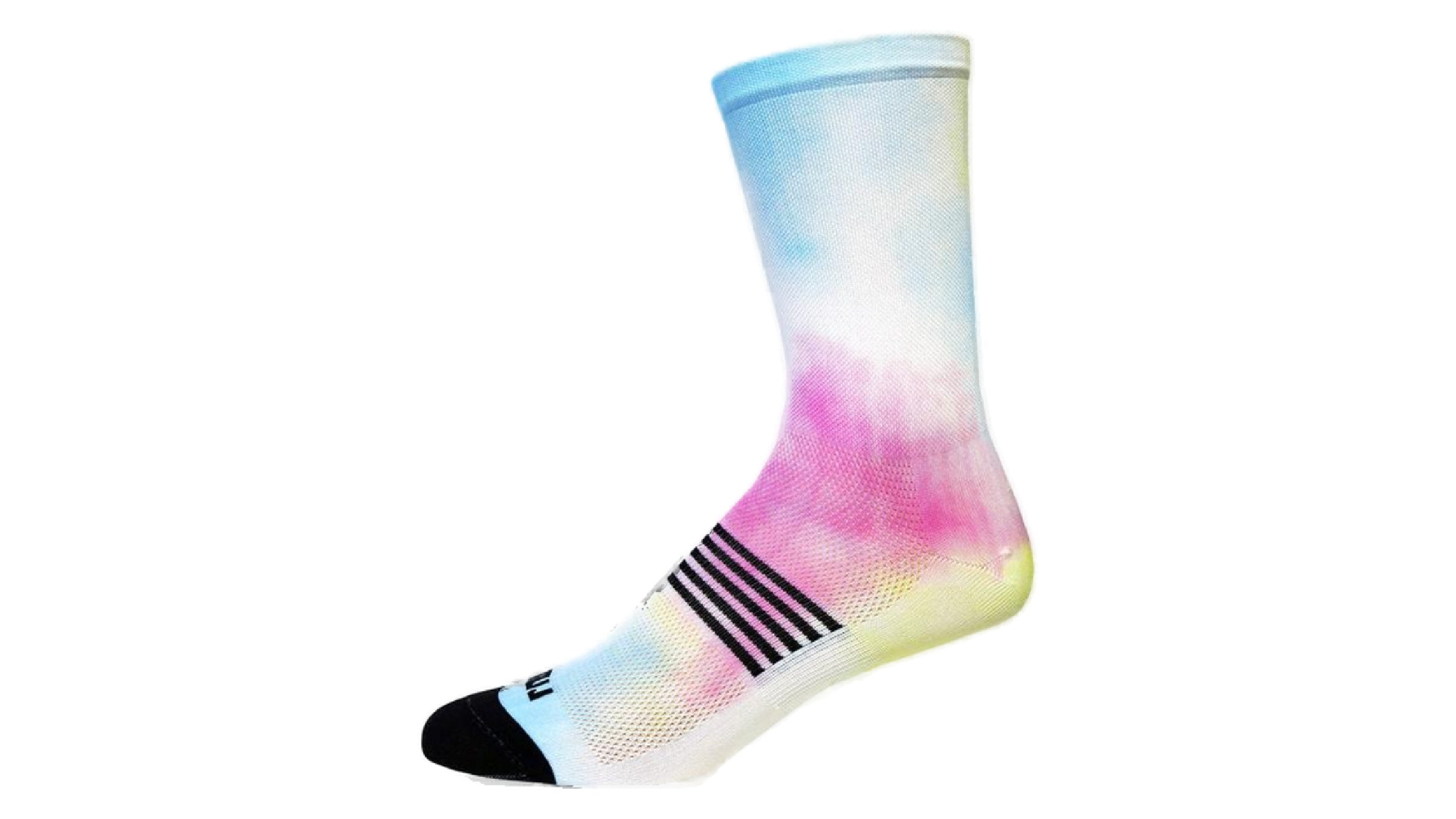 Rainbow-colored sock