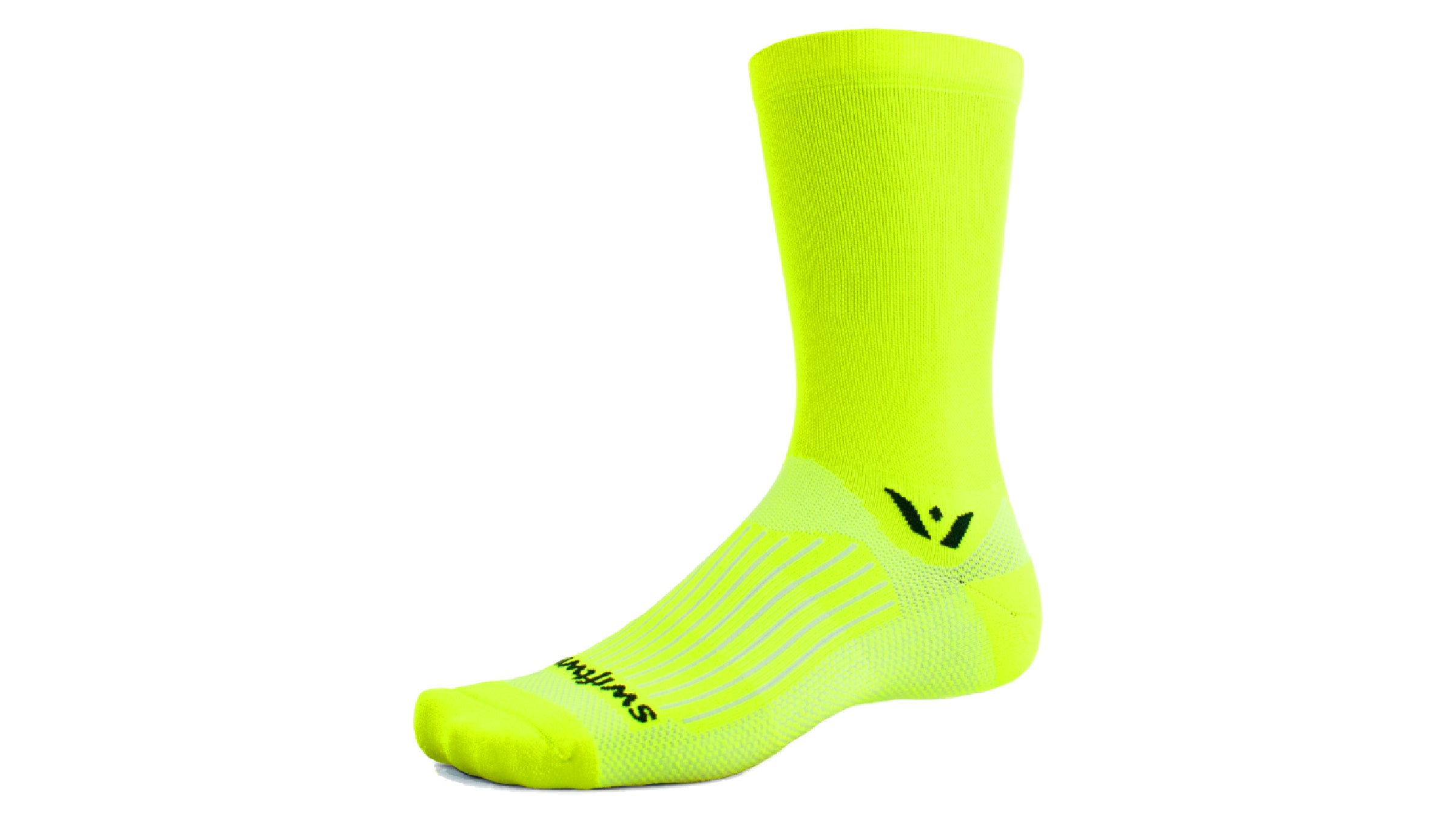 Neon yellow sock